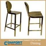 LC04 Cheap Bar Stool Stainless Steel Chairs with Single Arm