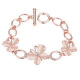 Czech Drill Bracelet Opal Women Bracelet Rose Gold Jewelry