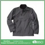 Grey Color Breathable Softshell Jacket