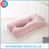 White Wholesale Softer Polyester Pregnant Pillow Full Body Maternity Pregnancy Pillow