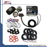 Warning 6 Head Strobe Tube Kit / LED Hiseaway Strobe Lights (LED347E)