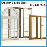 Single Float Clear Glass Aluminum Hung Window for Building