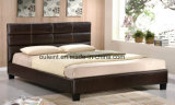 Morden High Quality Faux Leather Bed Bedroom Furniture
