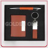 Luxury Pen & Keychain & Card Holder Gift Set