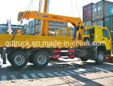 Truck with Crane, 10-12 Tons Truck Mounted Crane, Crane Truck