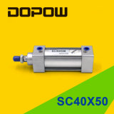 Dopow Sc40X50 Cylinder Standard Pneumatic Cylinder