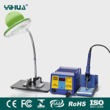Yihua 939bd+ Soldering Iron Station with LED Magnifier Lamp with Small Electronic Board Fixture
