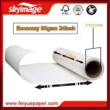 Uncurled 90GSM 610mm*24inch Fast Dry Sublimation Paper Roll for Digital Textile Printing
