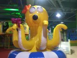 Hit Giant Rotatory Inflatable Octopus for Indoor Amusement Playground