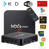 Mxq PRO 4k Smart TV Box Amlogic S905 Android 6.0 Support WiFi H. 265 Movies 4k Video