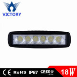 6 Inch Mini 18W LED Light Bar 12V 24V Motorcycle LED Bar Offroad 4X4 ATV Daytime Running Lights Truck Tractor