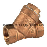 Bronze Strainer with Stainless Mesh