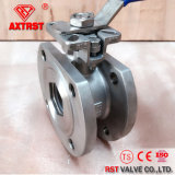 Flanged Wafer Ball Valve with Direct Mounting Pad
