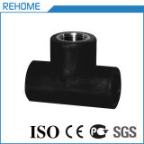 32mm Pn10 HDPE Pipe Fitting for Water Supply Female Tee