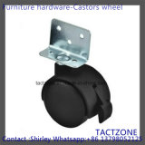 L Shape with Brake Locking Swivel Nylon Caster Wheel Trolley Wheel