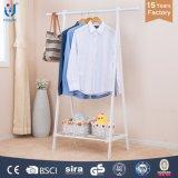 Strong White Color Powder Coated Steel Garment Hanger
