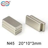 Strong NdFeB Neodymium Magnet of N45