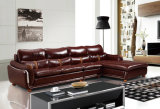 Modern Home Furniture Leather Living Room Sofa (UL-NS257)