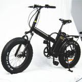 Portable Fat Tire Folding Electric Bike for Adult