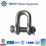 Round Pin Chain Shackle U. S. Type / Drop Forged