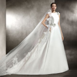 High Quaity Satin Wedding Gown