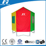 Colorfull Tent for Trampoline (pointed roof)
