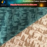 "100% Polyester Gabardine Shirting Fabric with Transfer Printing""Tree"""