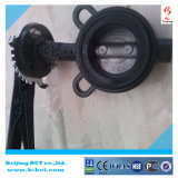 CAST IRON BODY DK BUTTERFLY VALVE WAFER TYPE WITH HANDLE OR GEAR WORM BCT-DKD71X-10