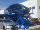 Underground Garage Hydraulic Scissor Car Lift with Low Price