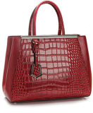 2013 New Lady Fashion Genuine Leather Handbag (MD25610)