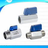 Male Female Thread Mini Ball Valve China Manufacturer