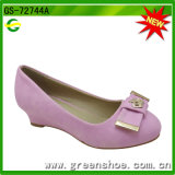 Summer Fashion Design Wedge Heel Lady Shoes