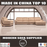 European L Shape Leather Sofa (Lz063)