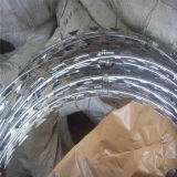 Galvanized Razor Barbed Wire Mesh Fencing