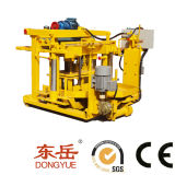 Brick Press Machine|Mobile Brick Making Machine|Vibrated Block Making Machine Qt40-3A (DONGYUE BRAND)