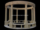 Pavilion, Stone Pavilion, Marble Pavilion Gazebo (GS-G-043)