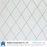 Lower Price Sales 6mm Clear Wired Figured Glass