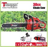 high quality 38cc tree pruning tools gasoline chain saw
