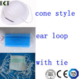 Surgical Face Mask Ready Made Supplier Ear Loop Tied Cone Types Kxt-FM01