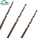 Tin-Coated Straight Shank Tappered Flute HSS Twist Drill Bits (JL-TDB)