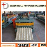 Colored Glaze Steel Tile Roofing Sheet Roll Forming Machine