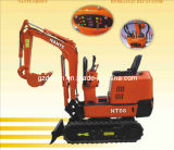 0.8ton Mini Digger Hydraulic Crawler-Type Small Excavator