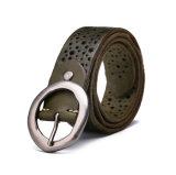 China Factory Low Price Fashion Designer 125cm Length 3.8cm Width Leather Belt