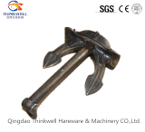 Factory Price Casting Galvanized Carbon Steel Hall Anchor/ Marine Anchor