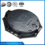 Double Seal Cast Iron Ductile Iron Manhole Cover with Hinge, Lock and Rubber Gasket