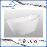 Bathroom Pure Acrylic Seamless Freestanding Bath Tub (AB6506)