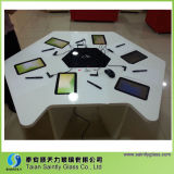3mm/3.2mm Extra White Flat Tempered Decorative Glass Panel for Tablet