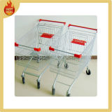 Hot Sale Supermarket Stainless Steel Shopping Cart for Sale