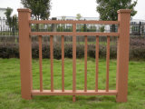 Durable and Free Maintain Garden Fencing Railing /Gazebo Fancing/Wood Railing