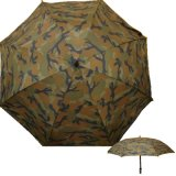 "Army Camouflage 60"" Super Durable Windproof Golf Umbrella for Hunting Camping,"
